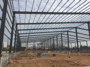 Construction of steel structure in Dongguan