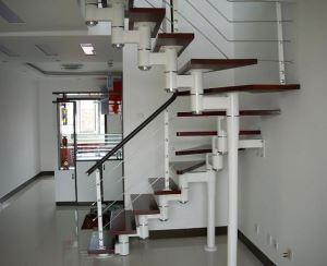 Furnished steel stairs